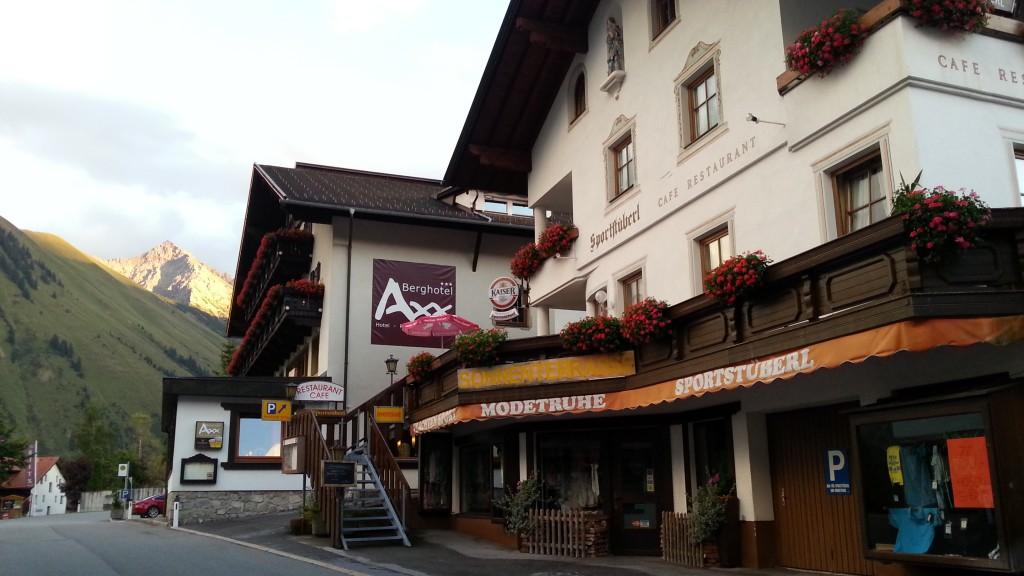 Ресторан и гостиница Axx в Берванге