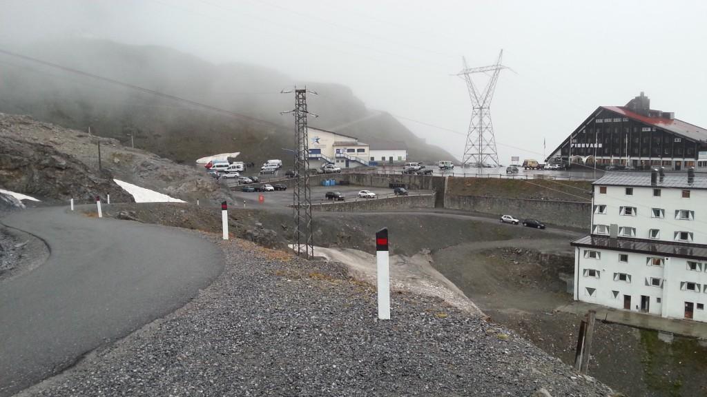 Пик перевала Пассо делло Стельвио.