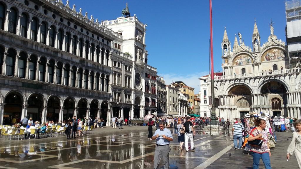 Венеция. Площадь Сан-Марко.