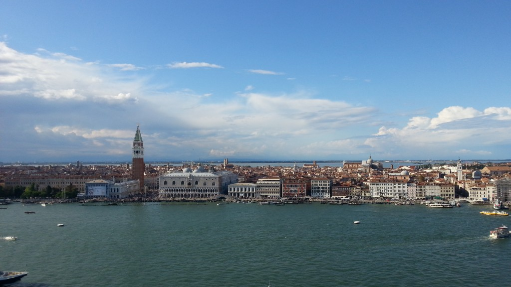 Венеция. Вид на Сан-Марко с колокольни острова Джорджо.