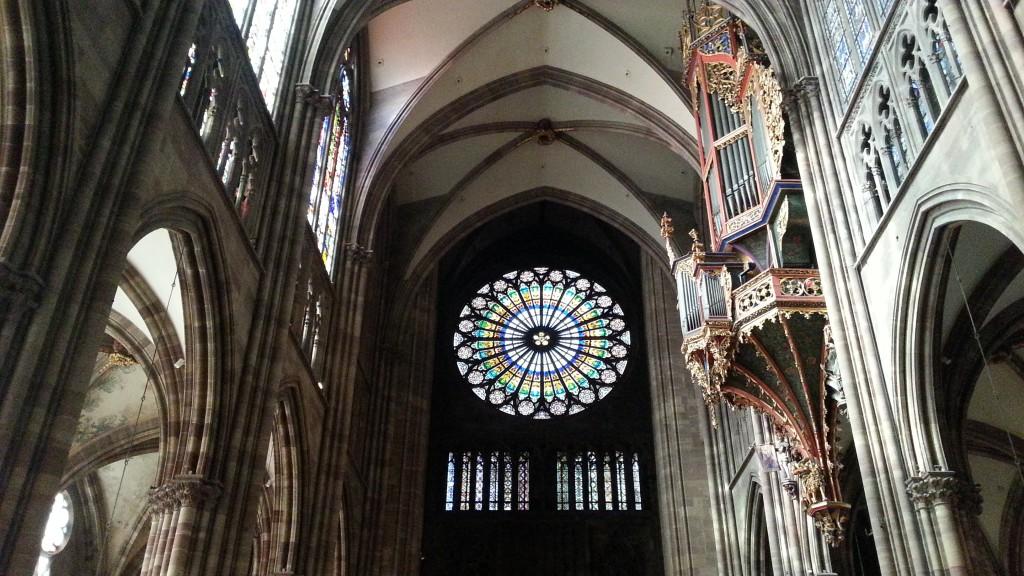 Страсбург. Кафедральный собор.