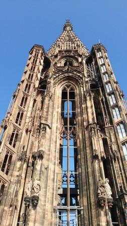 Главный шпиль Страсбургского кафедрального собора