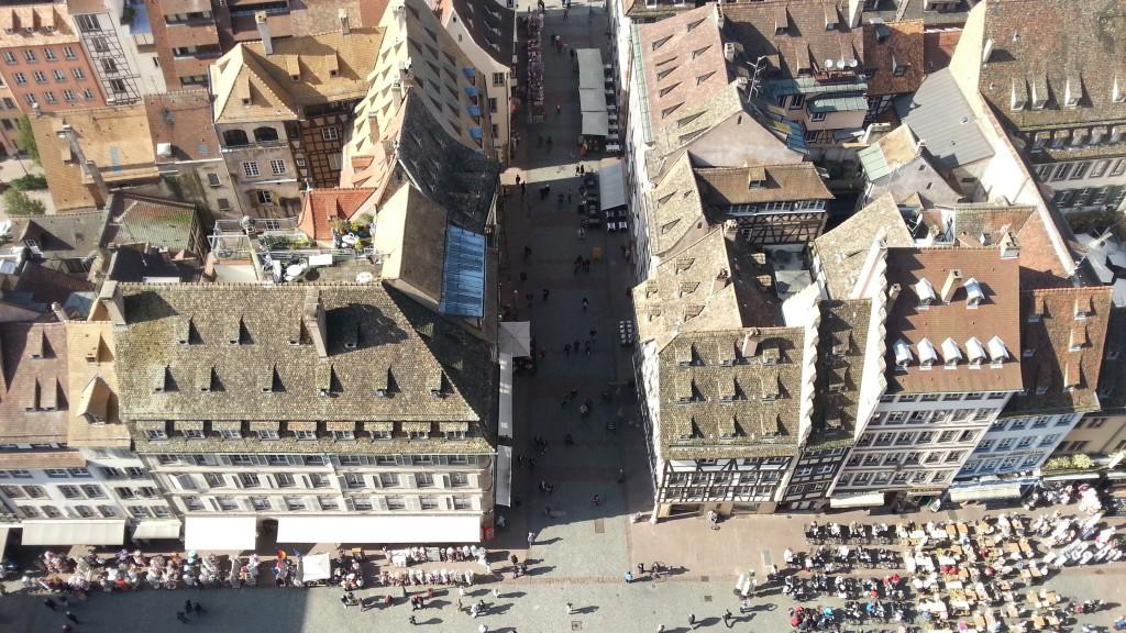 Улицы Страсбурга с Кафедрального Собора