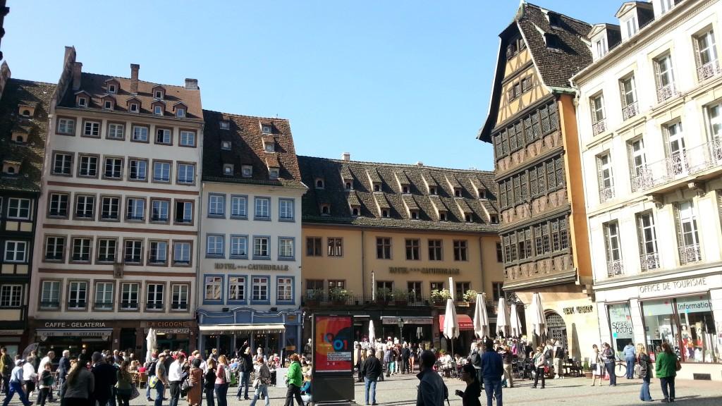 Страсбург. Соборная площадь. Дом Каммерцеля.