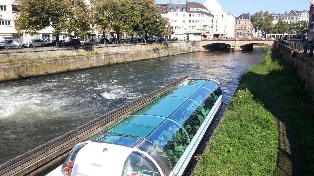 Страсбург. Река Иль.