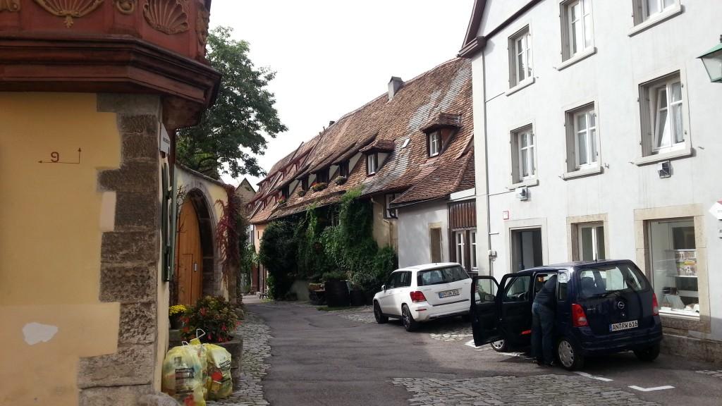 Уютные улочки Ротенбург-об-дер-Таубер.