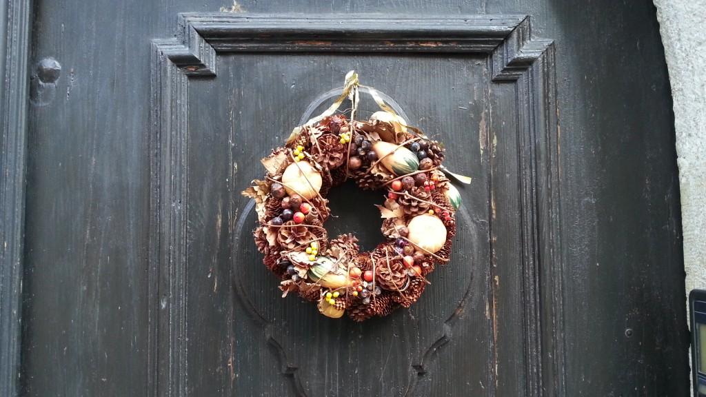 Рождественский венок в Ротенбурге-на-Таубере