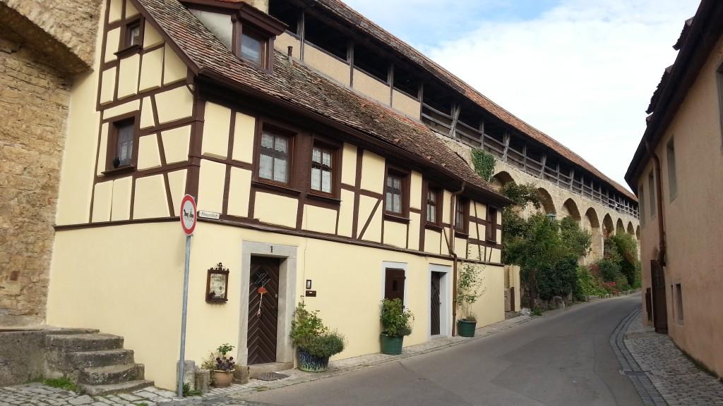 Крепостная стена в Ротенбург-об-дер-Таубер