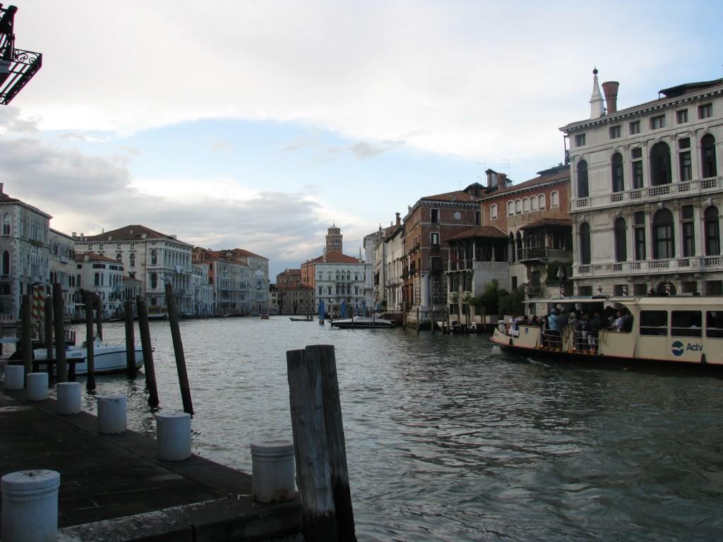 Вечерняя Венеция. Гранд Канал.