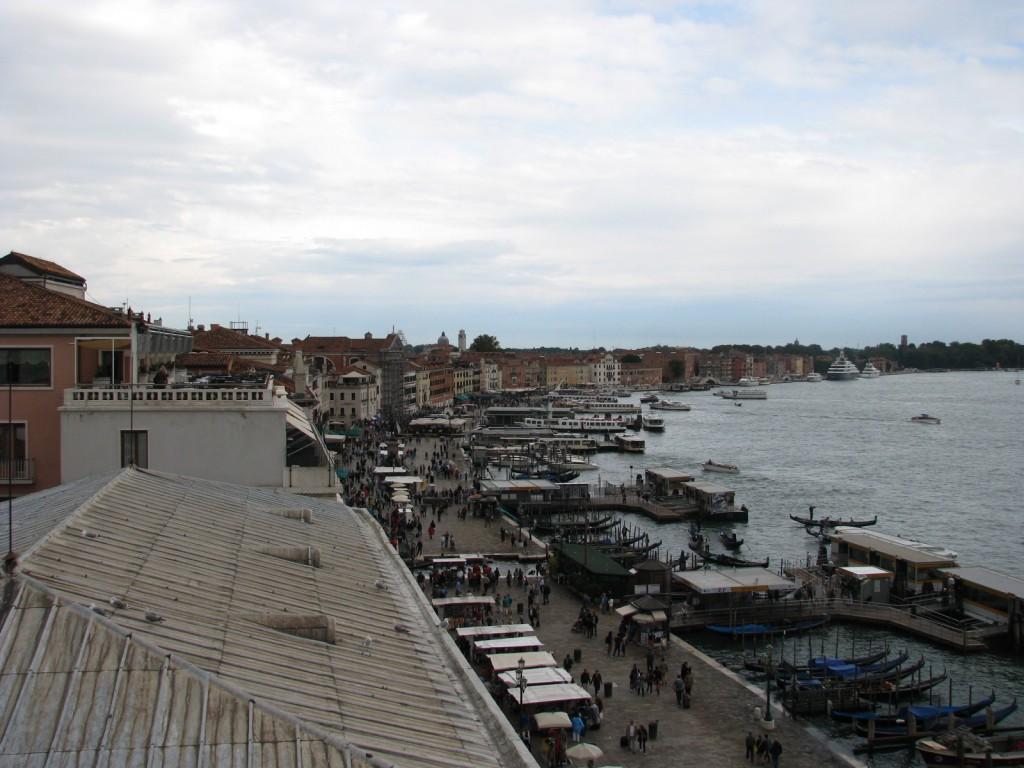 Венеция. Вид на пристань S.Zaccaria.