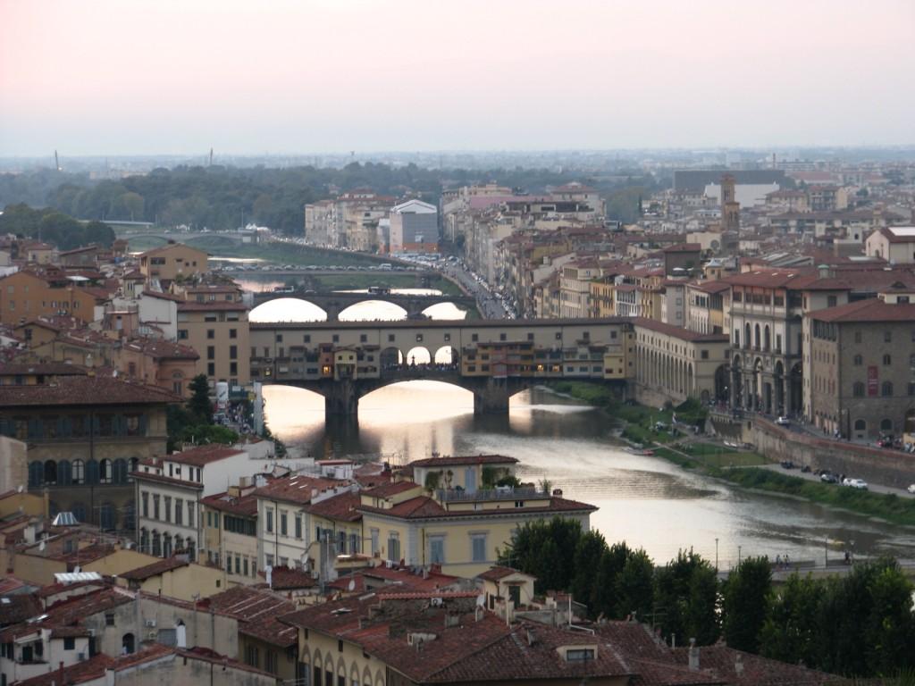 Флоренция. Мост Понте-Веккьо.