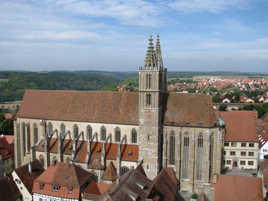 Собор св.Иакова. Ротенбург-об-дер-Таубер.