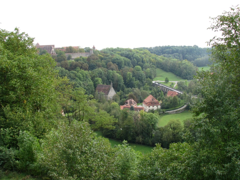 Окрестности Ротенбург-об-дер-Таубера