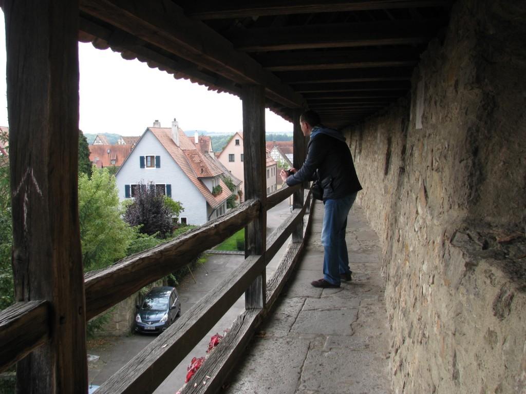 Ротенбург-об-дер-Таубер. Крепостная стена.