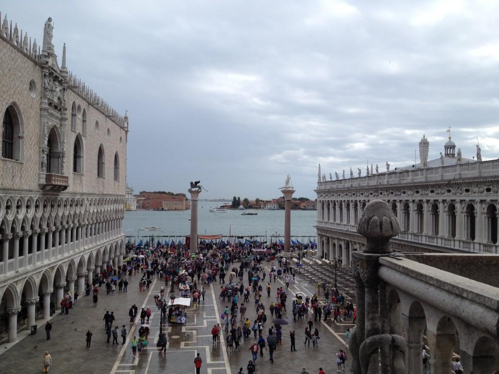 Венеция. Площадь Сан-Марко и вид на Гранд Канал.