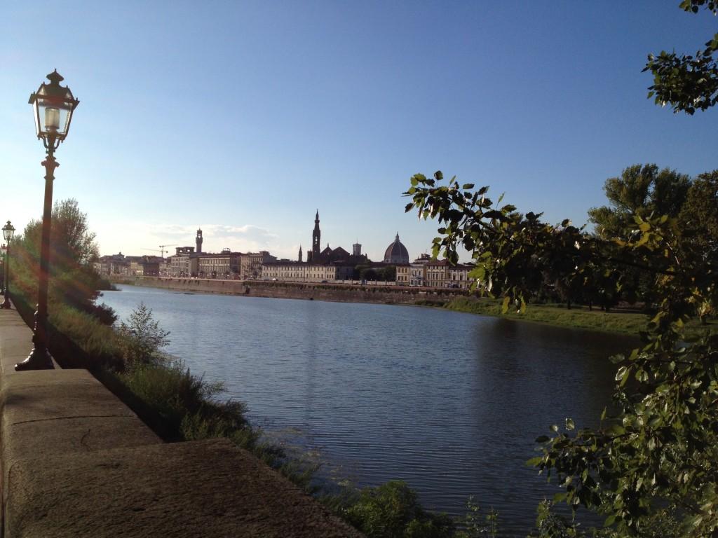 Флоренция. Река Арно.