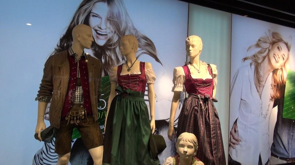 Национальные баварские костюмы