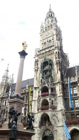 Мюнхен. Башня Новой Ратуши.