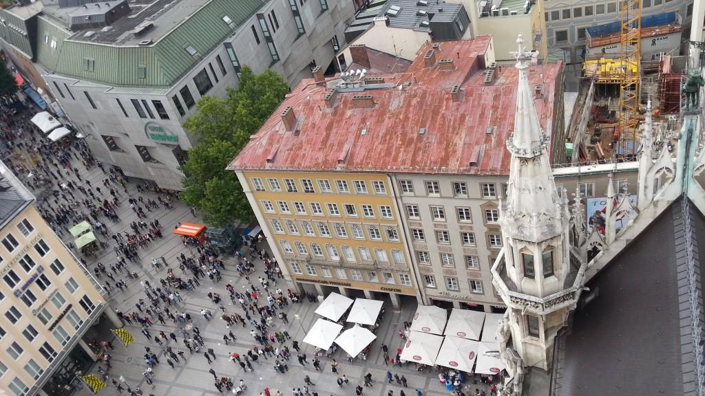Мюнхен. Вид с Новой Ратуши.