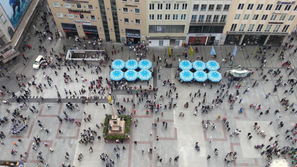 Мюнхен. Площадь Мариенплац.