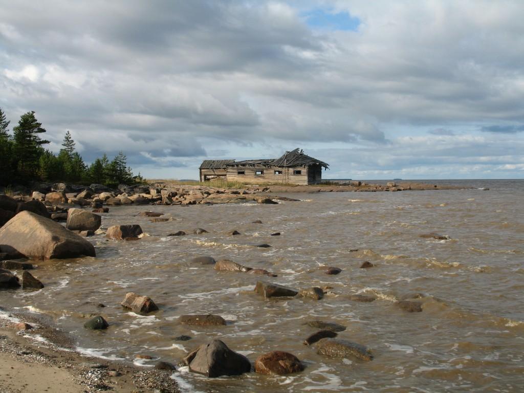 Унежма. Берег Белого моря.