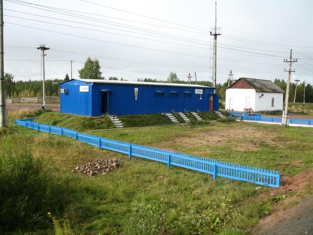 Станция Унежма