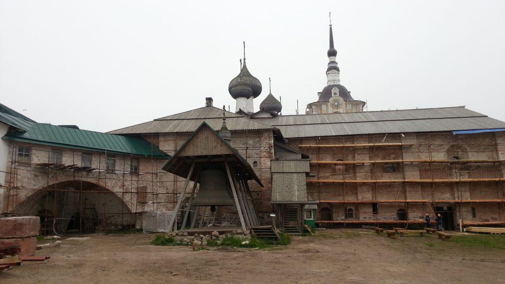 Соловецкий монастырь. Колокол.