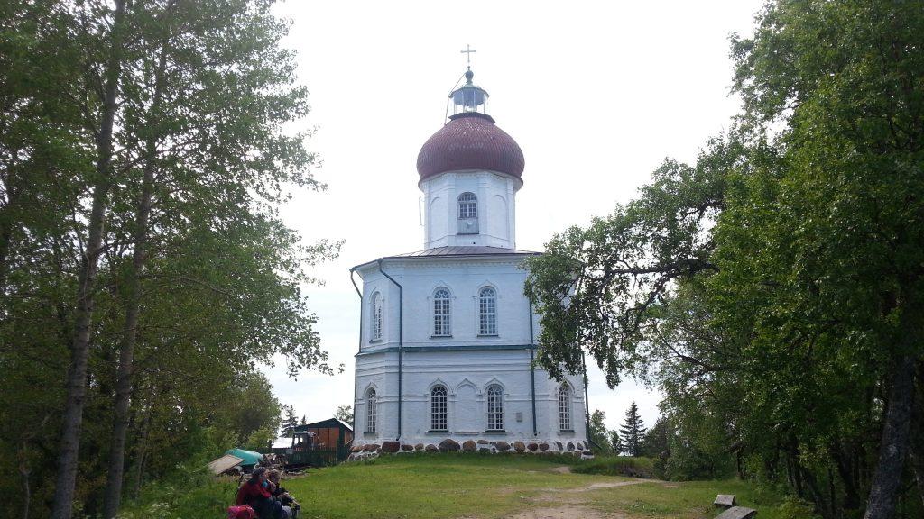 Гора Секирная. Вознесенская церковь на Соловках.
