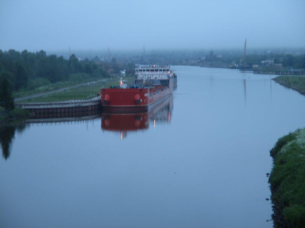 Волго-Балтийский канал. Шлюз №1. Северный Марш или Кола-2015.