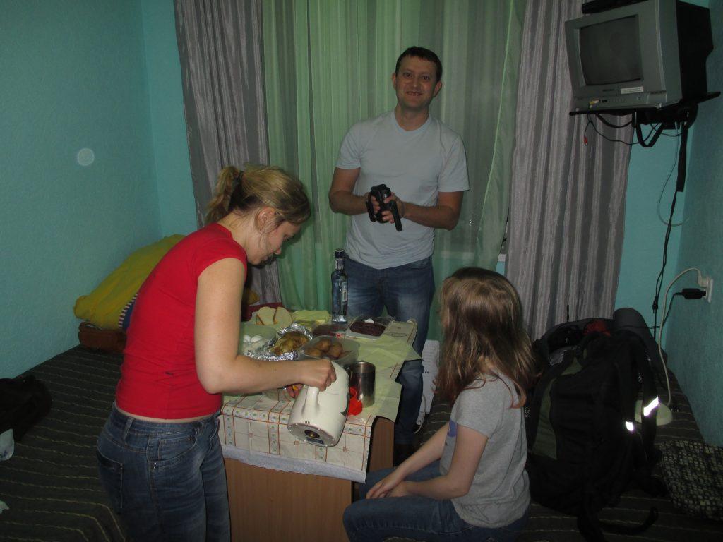 Гостиница КарелОнего в Пудоже. Северный Марш или Кола-2015.
