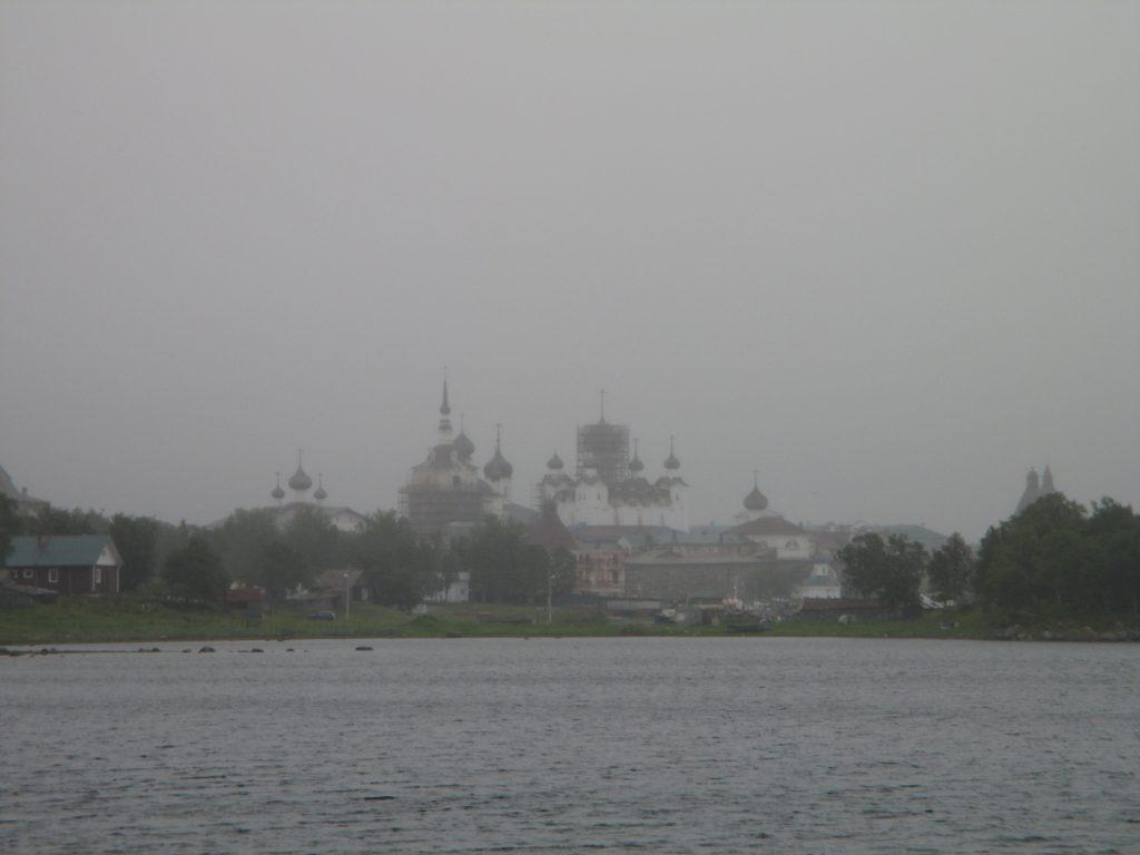 Соловецкий монастырь с Тамарина причала
