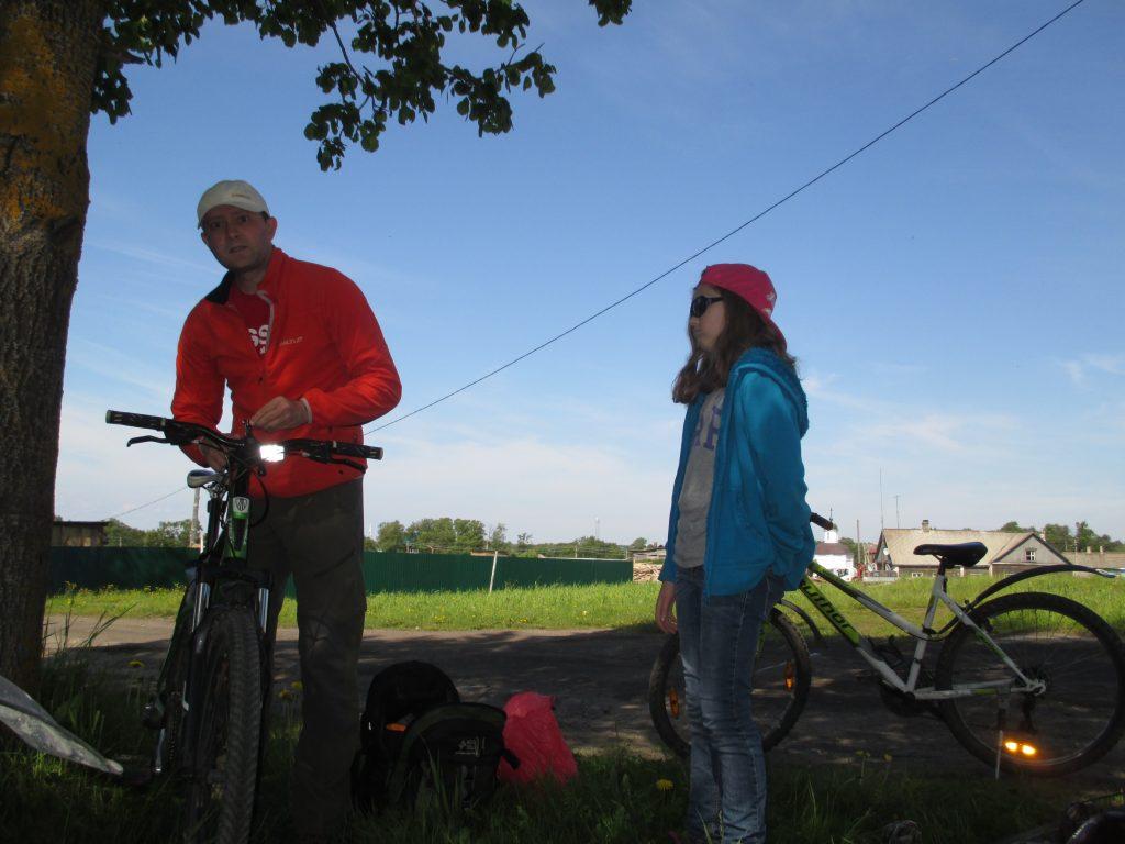 Соловки. В поселке. Собираемся на велопрогулку.