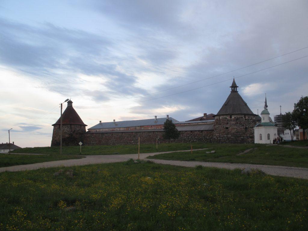 Соловецкий монастырь. Вид с севера.