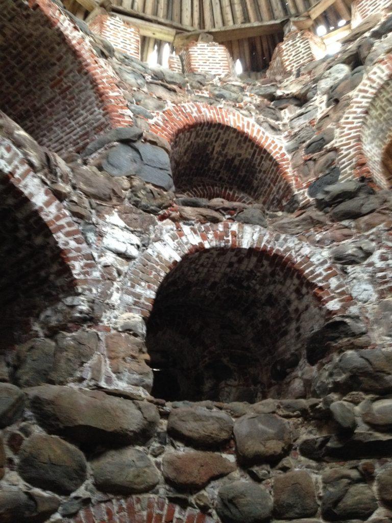 Башни Соловецкого монастыря изнутри