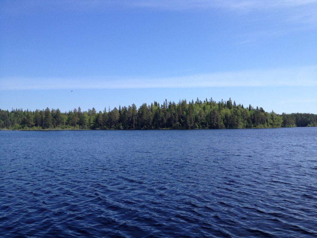 Соловки. Озеро Большое Корзино.