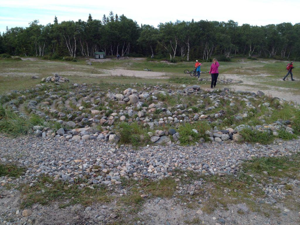 Каменный лабиринт на Соловках