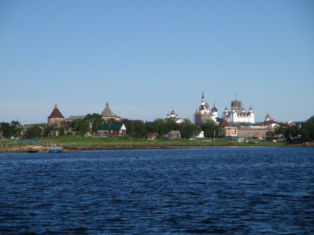 Прощальный взгляд на Большой Соловецкий остров и монастырь