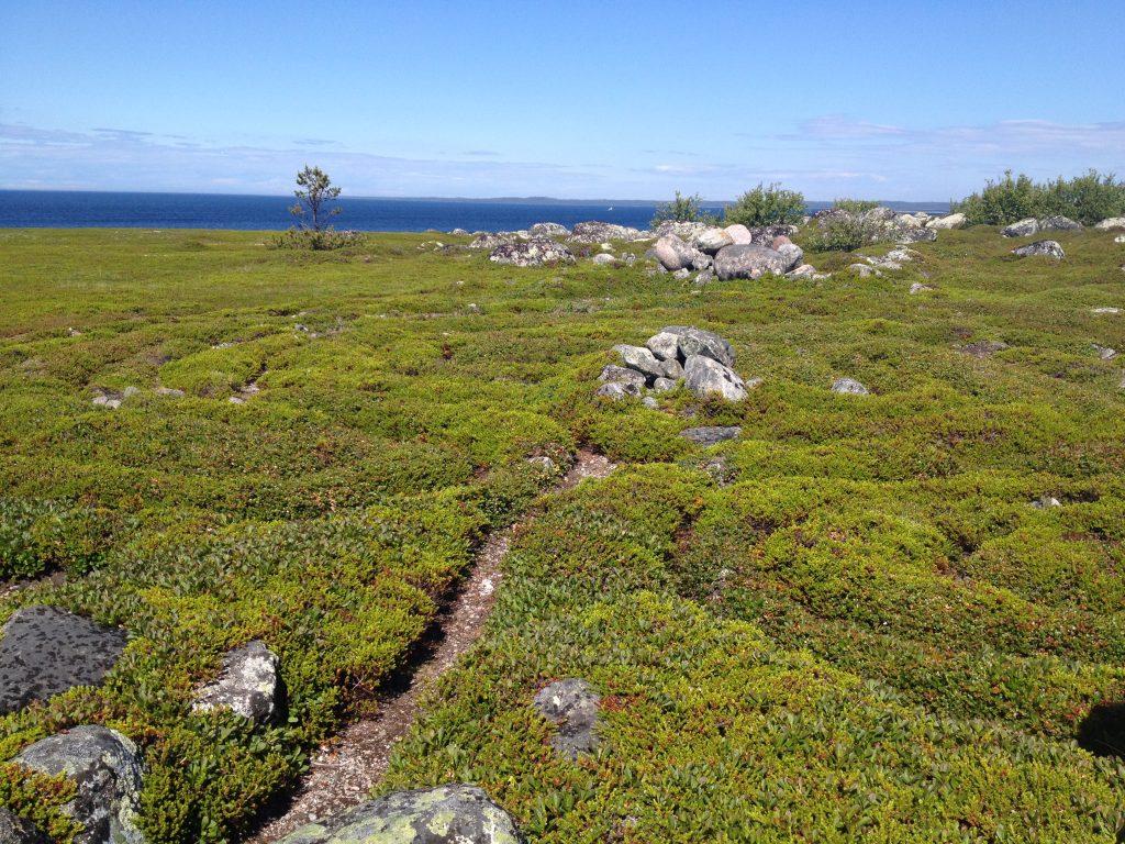 Каменный лабиринт на Большой Заяцком острове