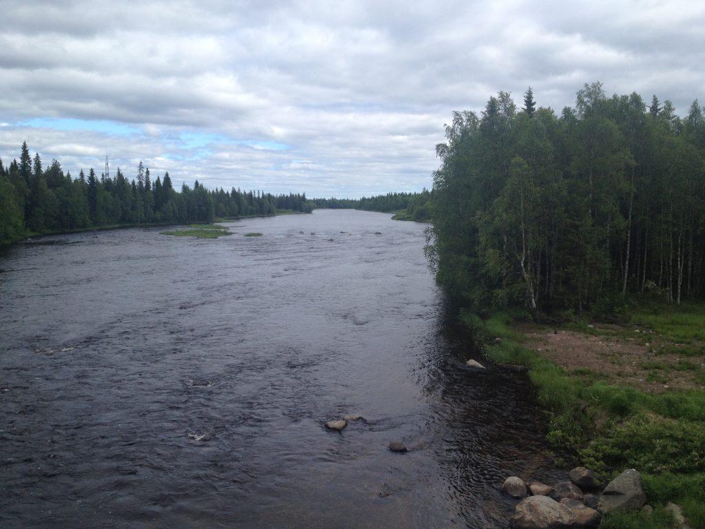 Река Кереть в Карелии