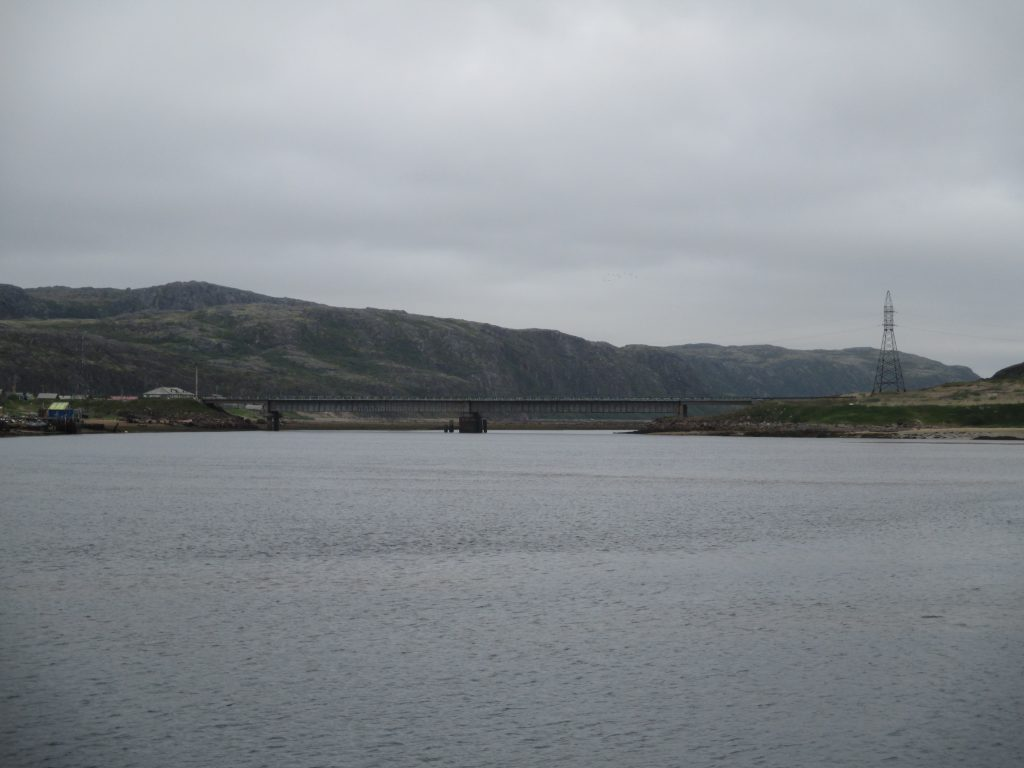 Мост в Териберке