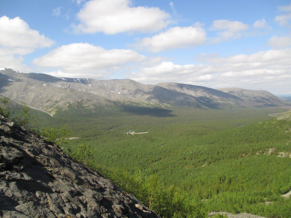 Хибины. Панорамы с горы Куэльпорр.