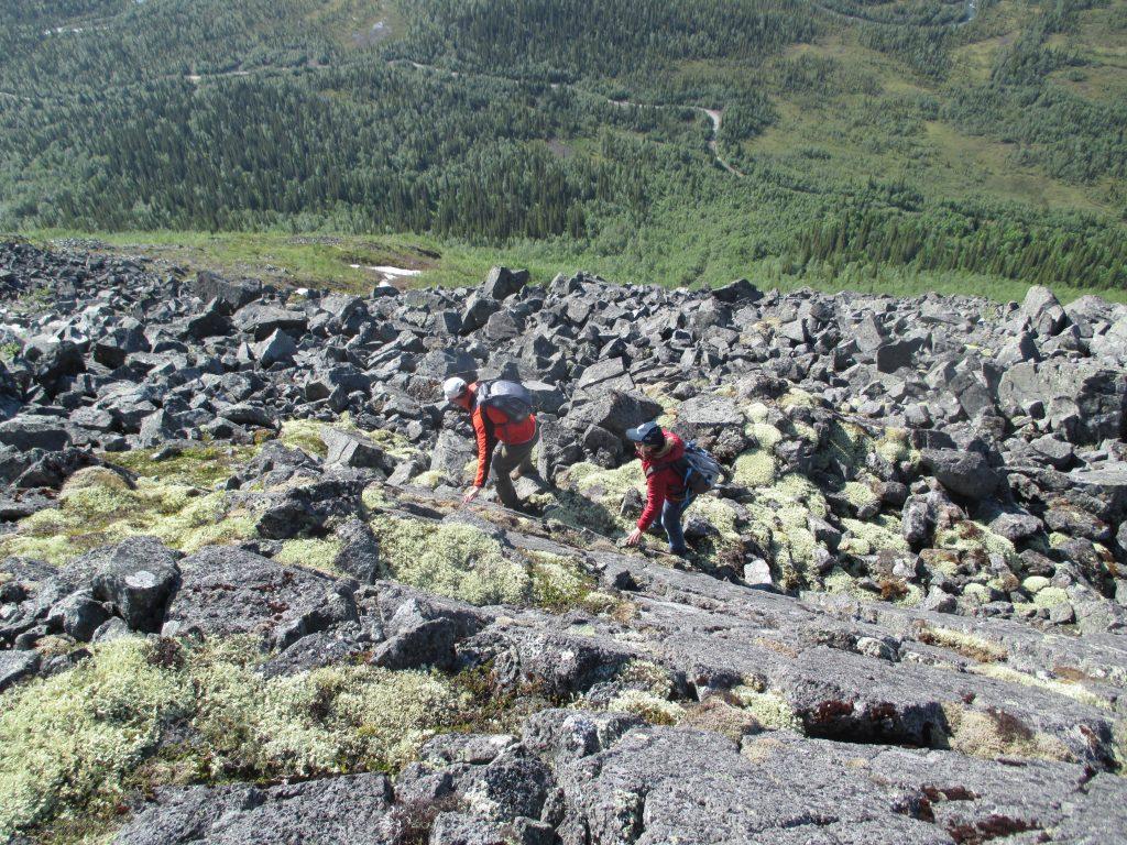 Хибины. Покорение горы Куэльпорр.