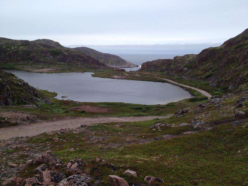 Териберка. Озеро Малое Батарейное.
