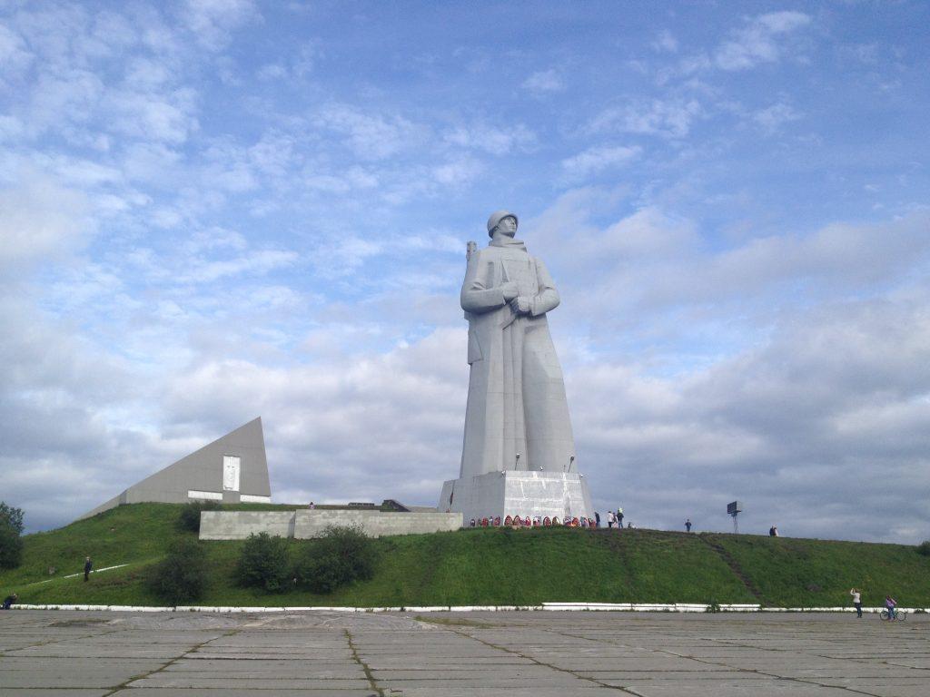 Мемориал защитникам Заполярья. Памятник Алеша.