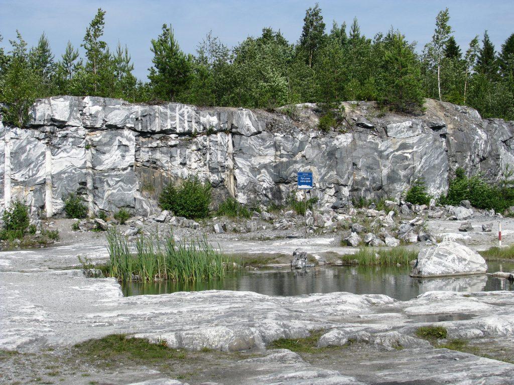 Горный парк Рускеала. Итальянский карьер.