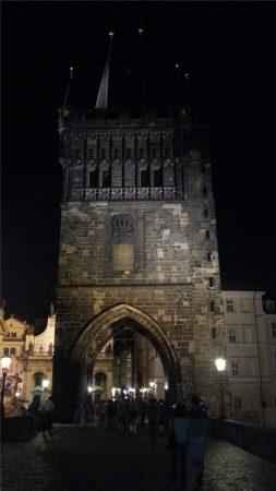 Прага. Староместская мостовая башня на Карловом мосту.
