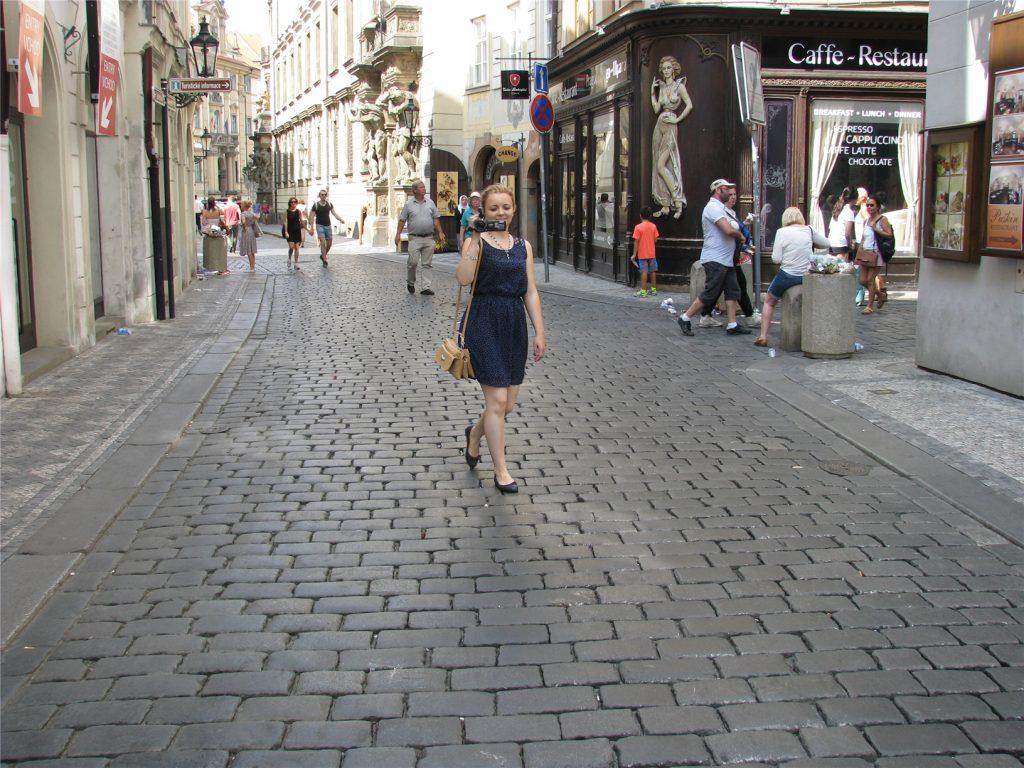 Прага. Гусова улица.