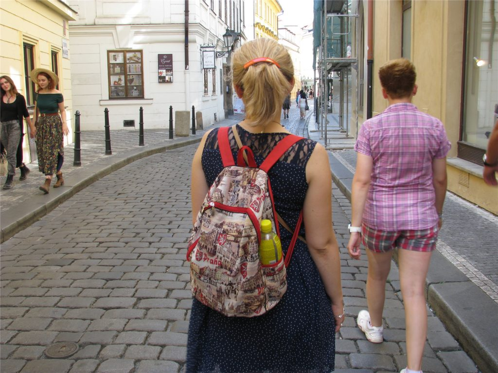 Гуляя по пражским улочкам