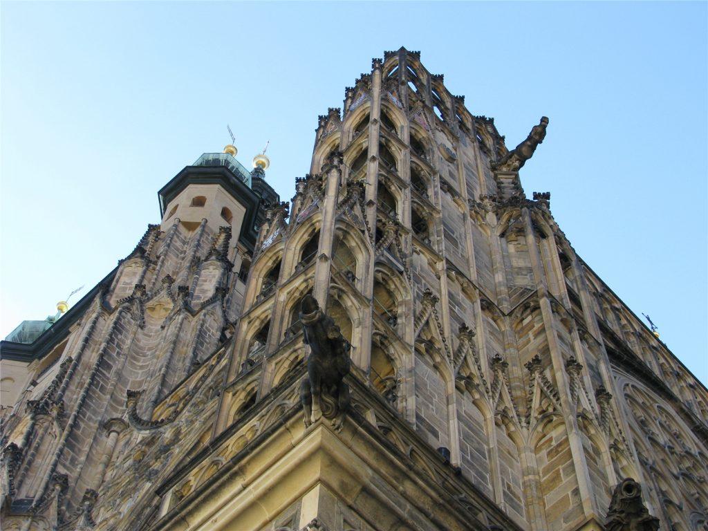 Архитектура собора святого Вита. Прага.