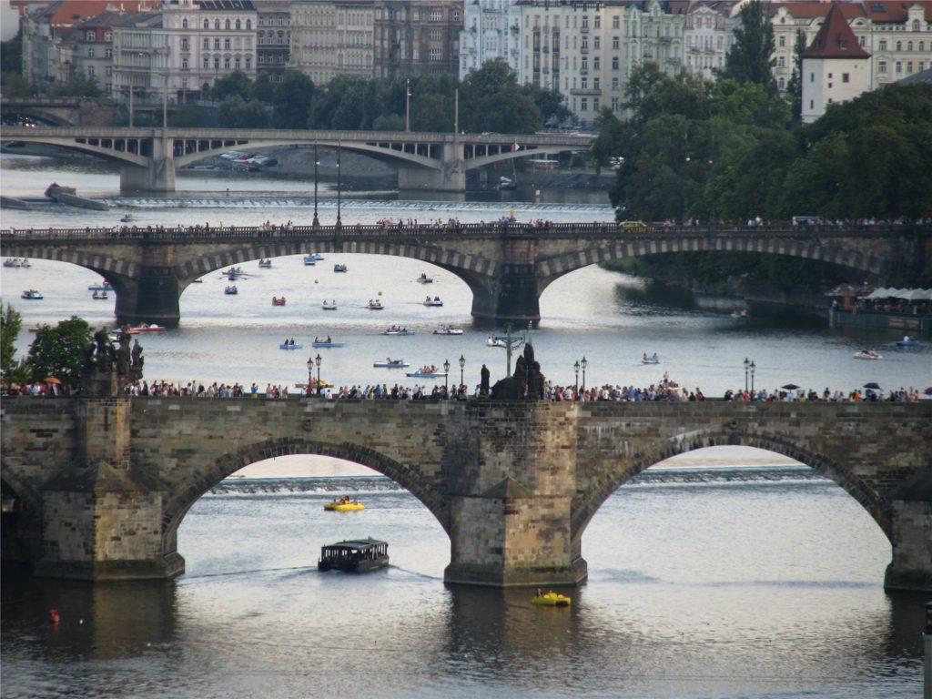 Мосты Праги. Карлов мост.